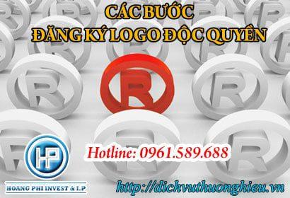 thời gian đăng ký logo độc quyền